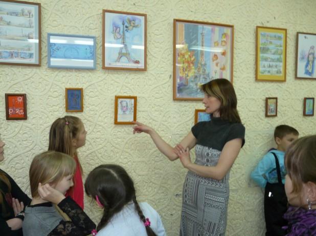 На выставке в ЦВР