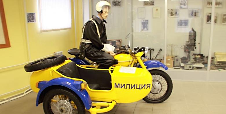 Мотоцикл-миниатюра