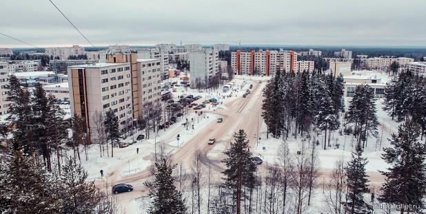 Костомукша зима