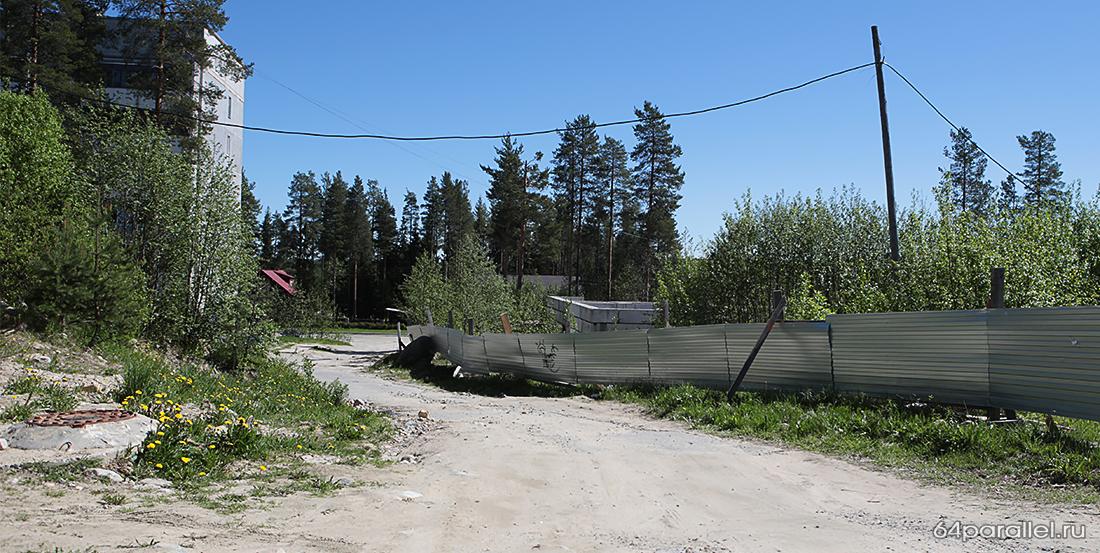Забор ЦВР Ленинградская