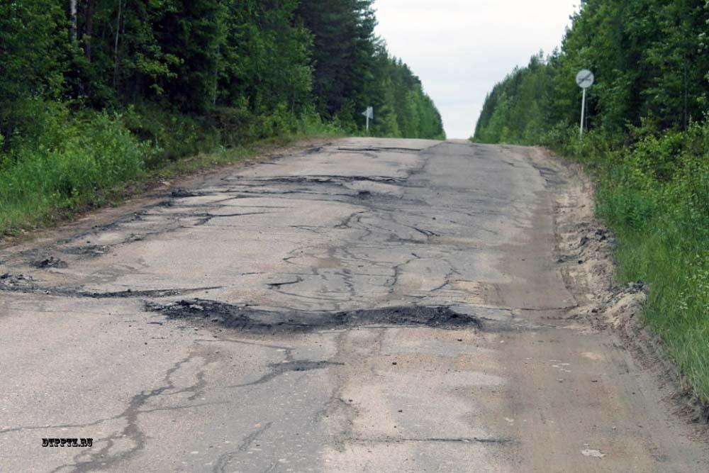 Дорога в Муезерский