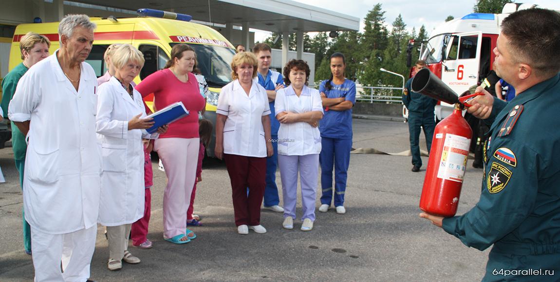 Учения в больнице-1