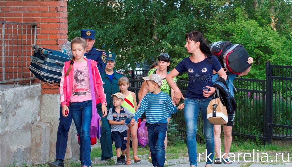беженцы фото рк