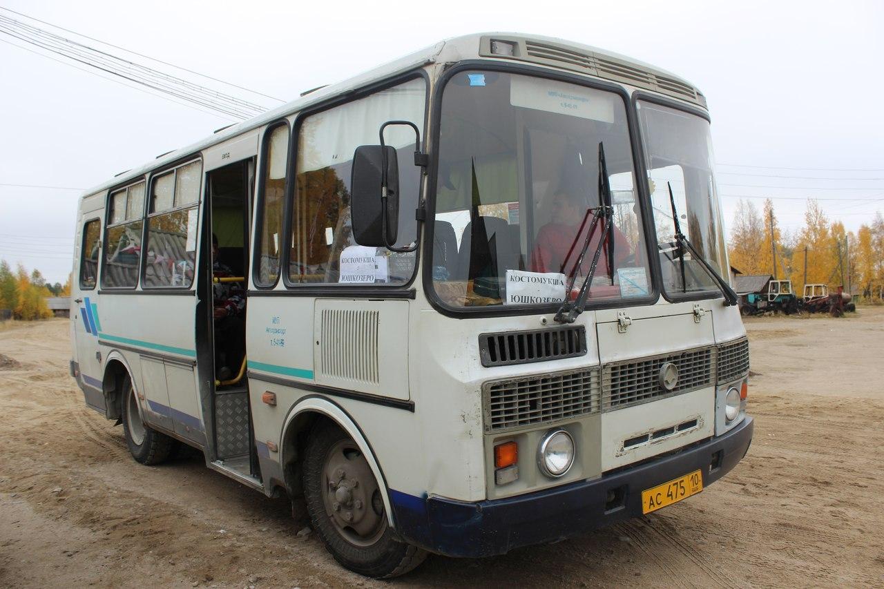 автобус юшкозеро-2