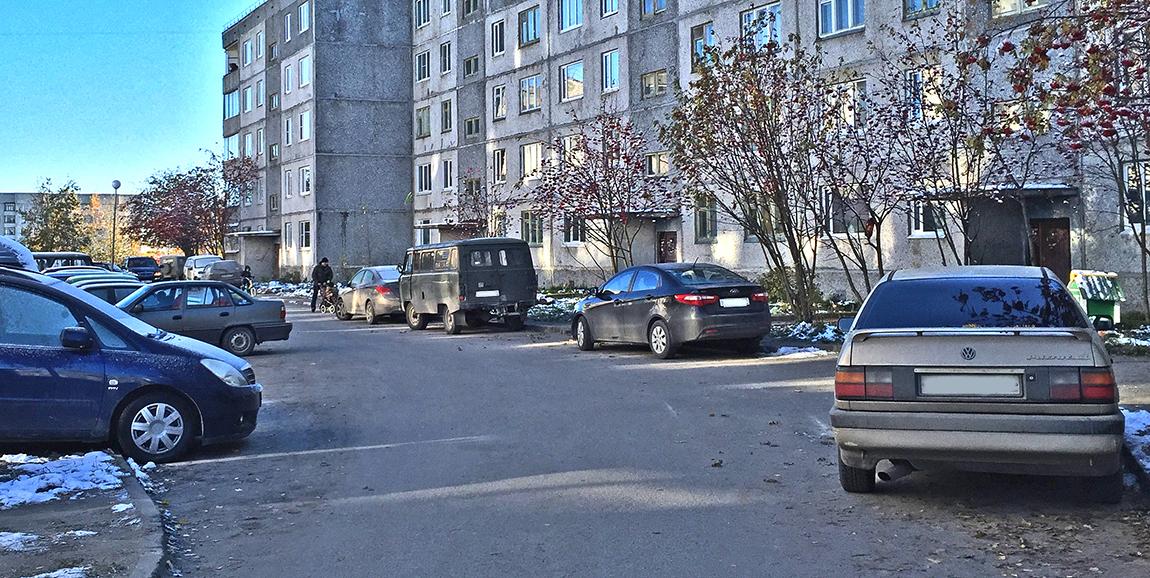 Двор Антикайнена, 29 парковка