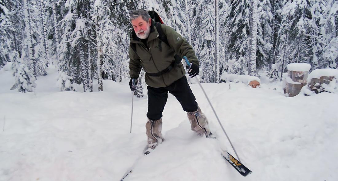 Восход волков кипатры туристы лыжи