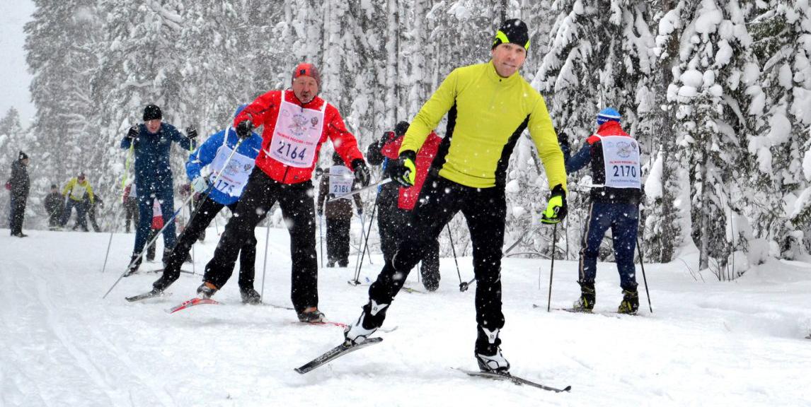 Лыжня России-9