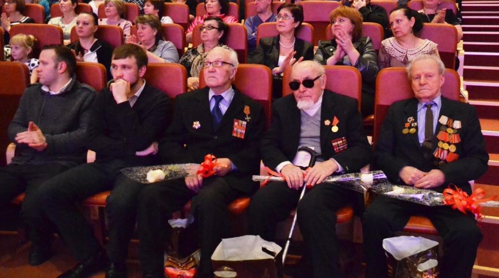 ветераны ВОВ - Кандауров Михаил Антонович, Плотников Павел Павлович, Смирнов Александр Иванович (2)