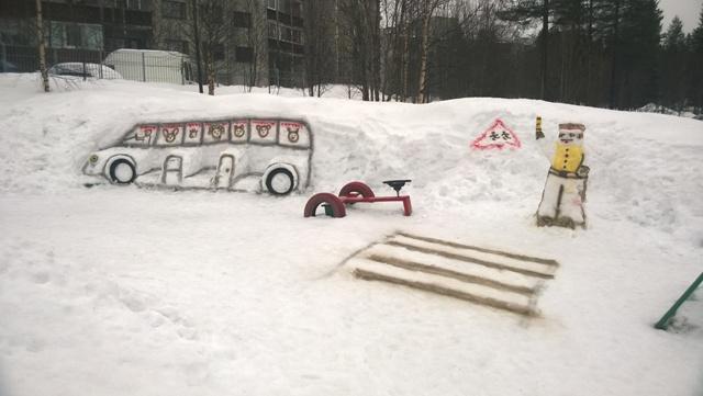 снежный городок