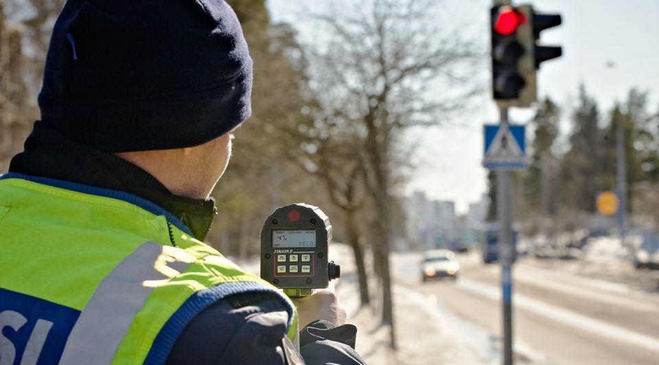 финская дорожная полиция