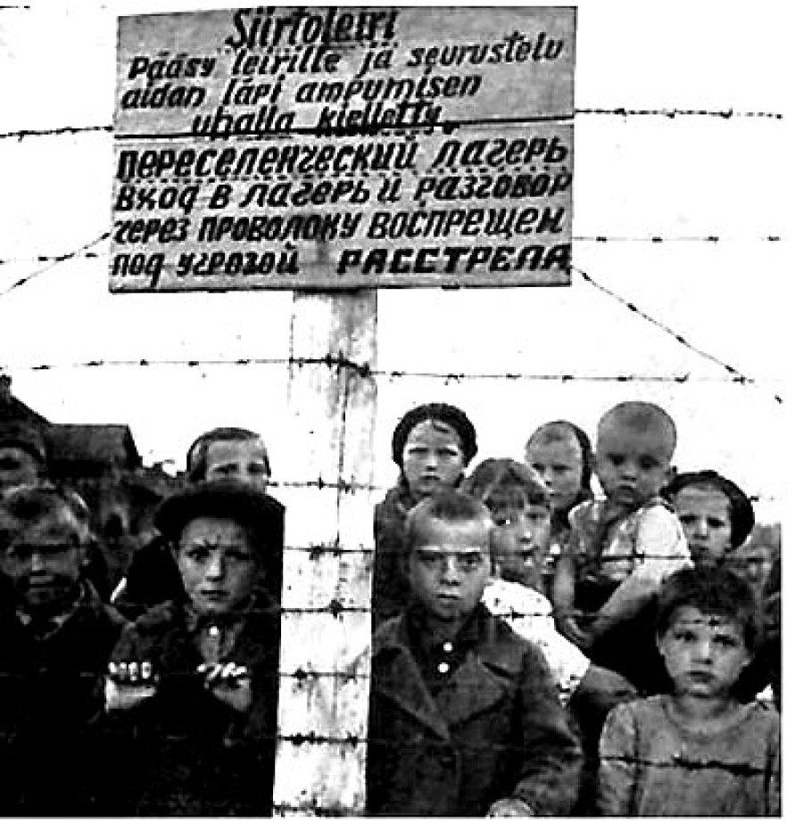 дети за колючей проволокой - 159 Кб