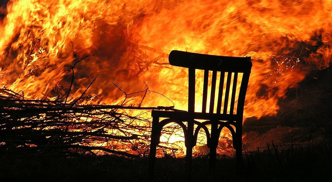 пожар пиксабай