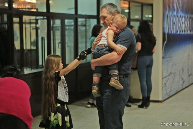 Виктор Позерн с детьми