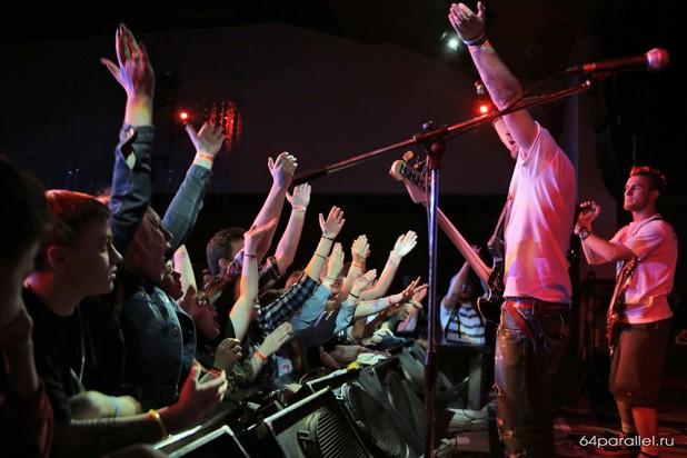Питерская Urbanisteria примчалась на Nord Session с концерта Limp Bizkit, где выступала на разогреве