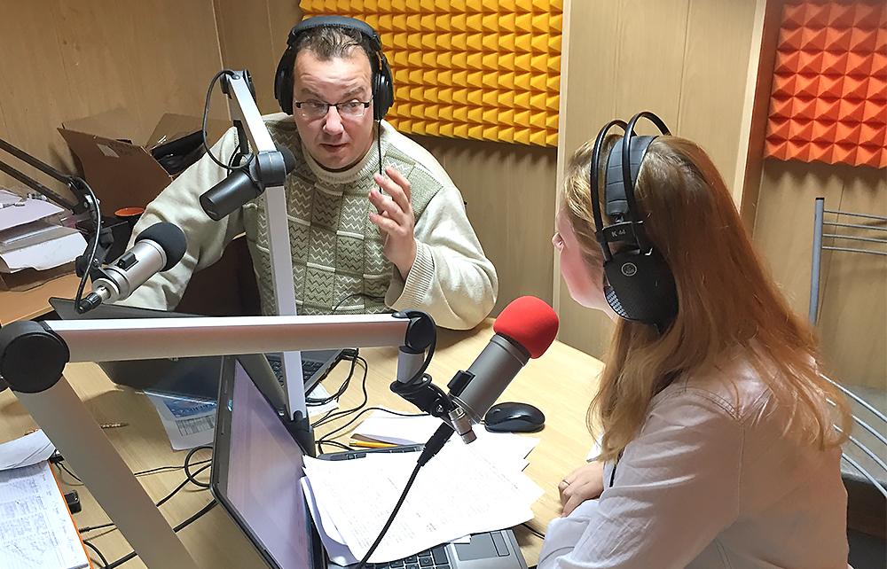 Радио Курочкин Хмелевская
