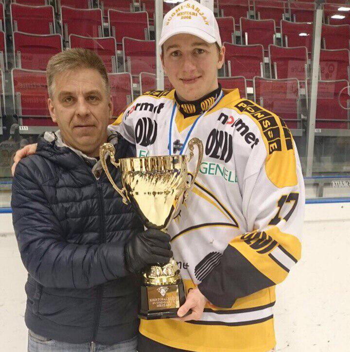 Евгений Фофанов с отцом  Леонидом Фофоновым