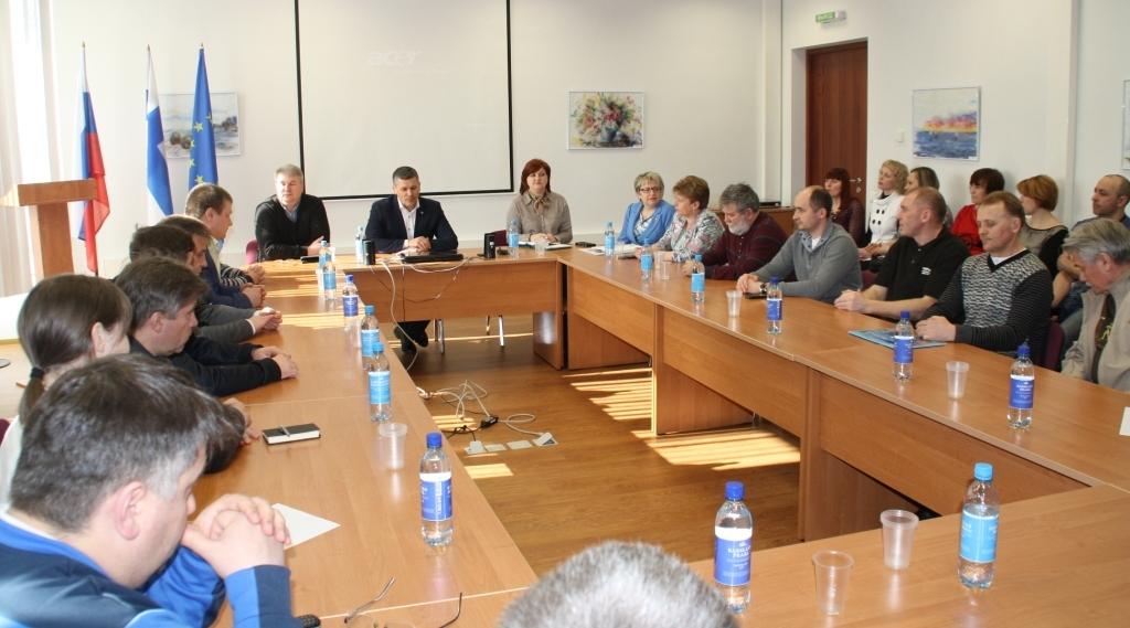 встреча Воробьева со спортсменами (2)