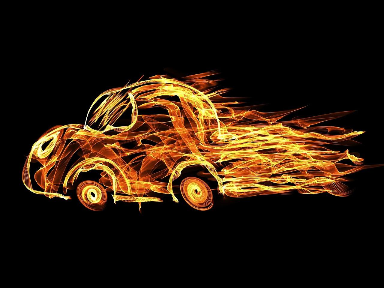 авто огонь Пиксбэй