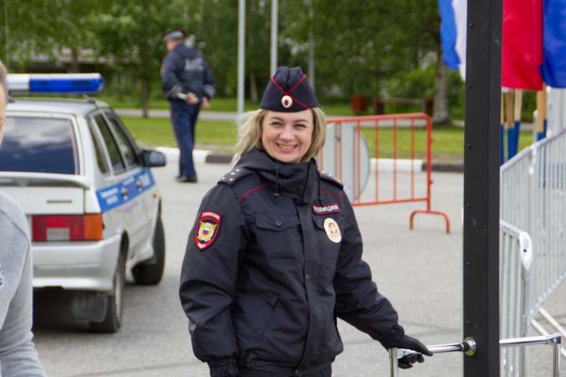 полицейский День республики