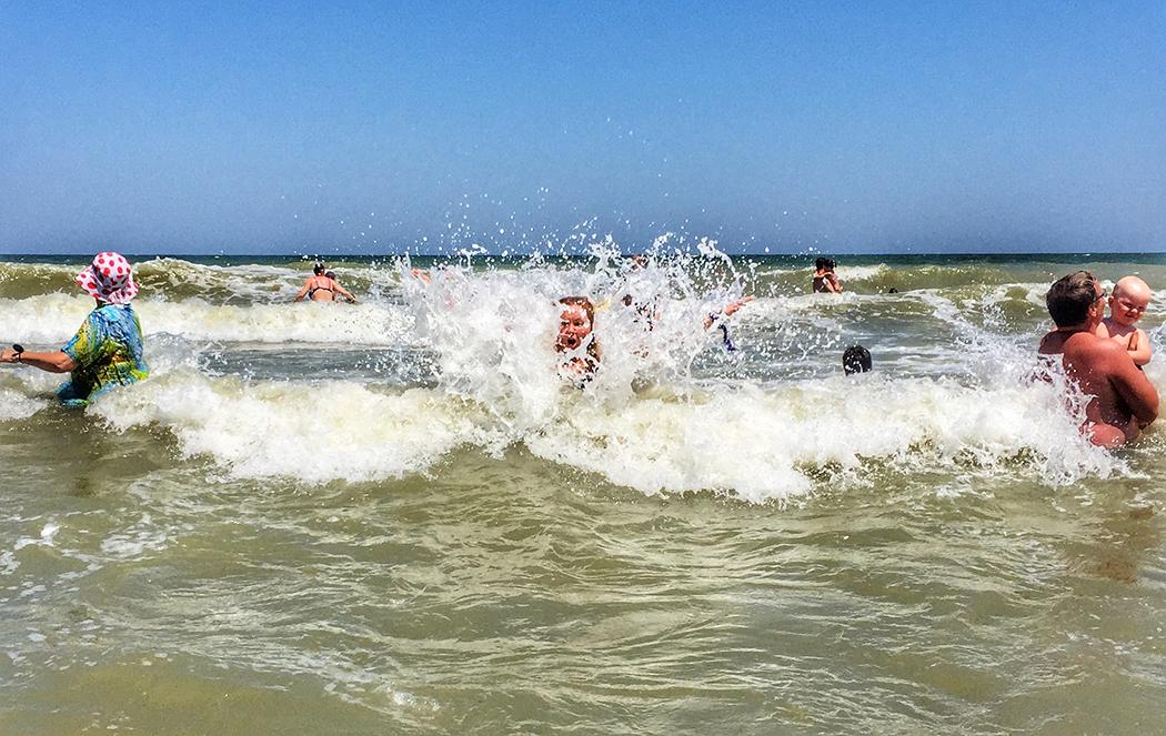Ловим волны в Азовском море