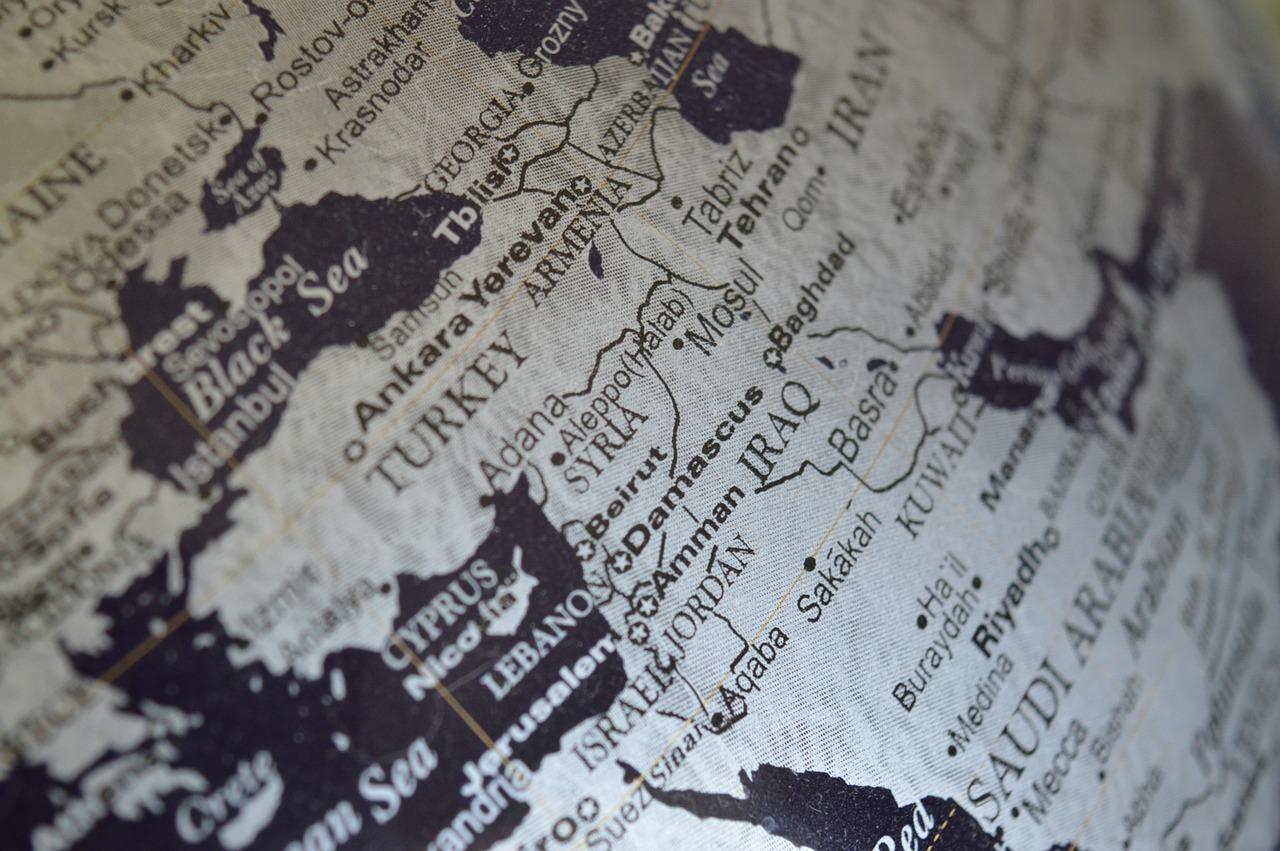 карта Сирия Пиксбэй