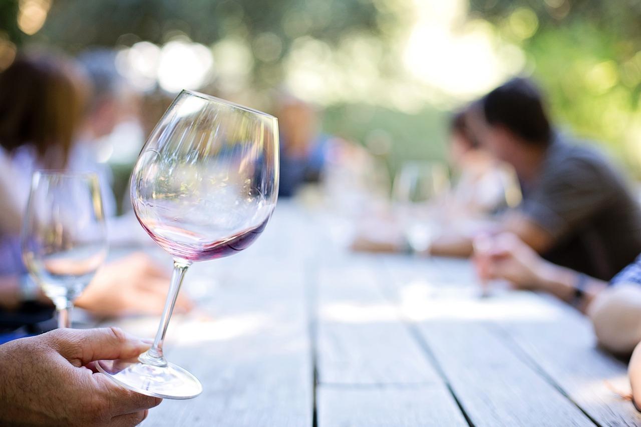 бокал вино Пиксбэй