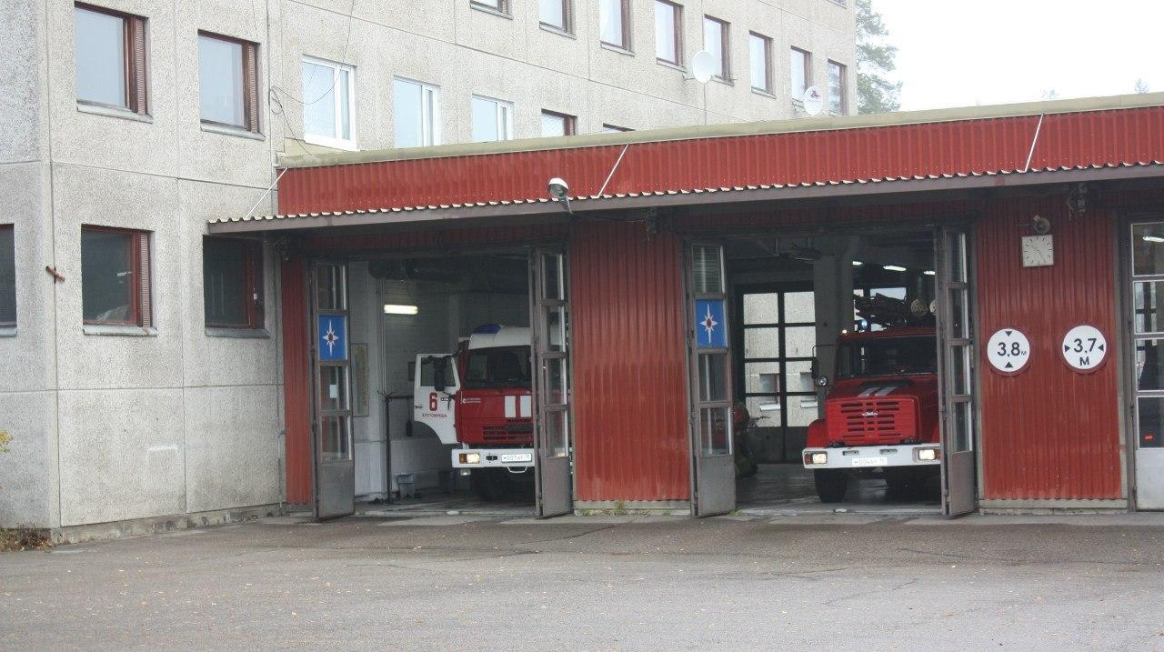пожарная часть открытые двери 3
