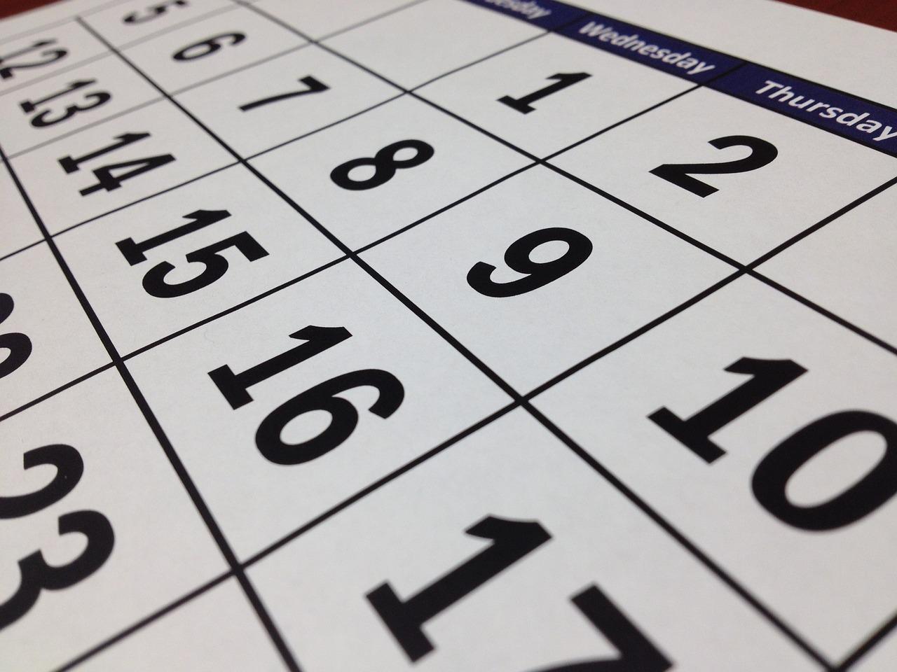 календарь Пиксбэй