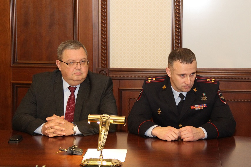 Дмитрий Сергеев и Николай Путилин