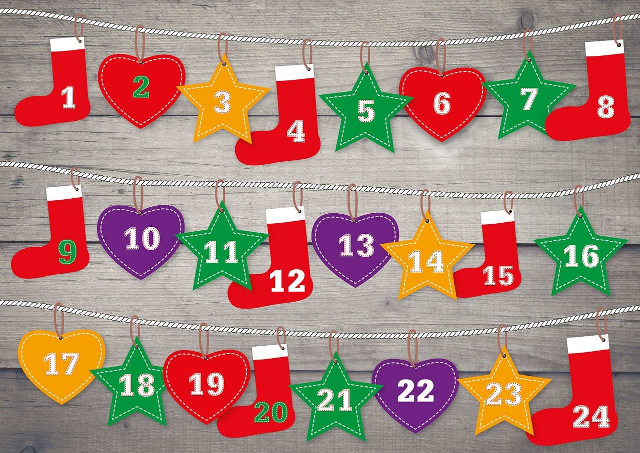 календарь новый год пиксабай