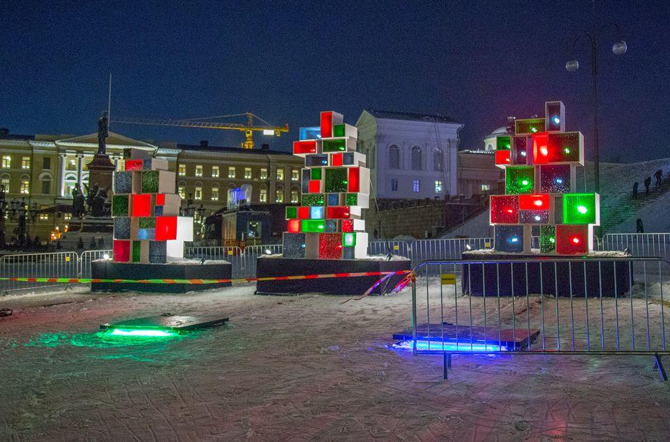 фестиваль света Хельсинки Юле