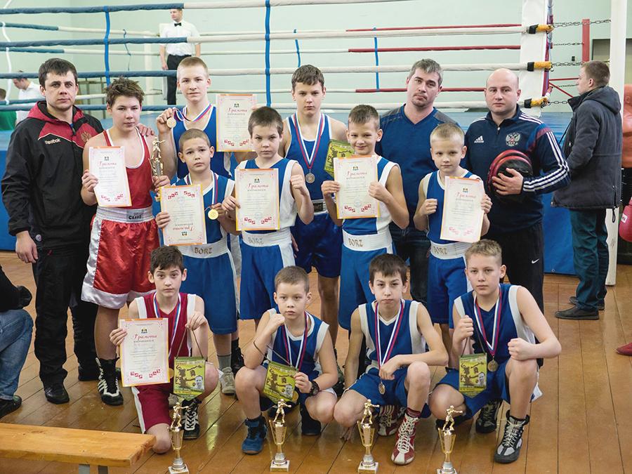 Новгород (боксеры из Костомукши и Петрозаводска)