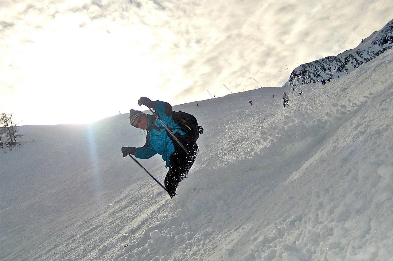 горные лыжи пиксабай