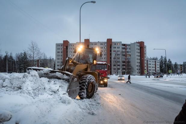 город зима чистка георгиевский 1