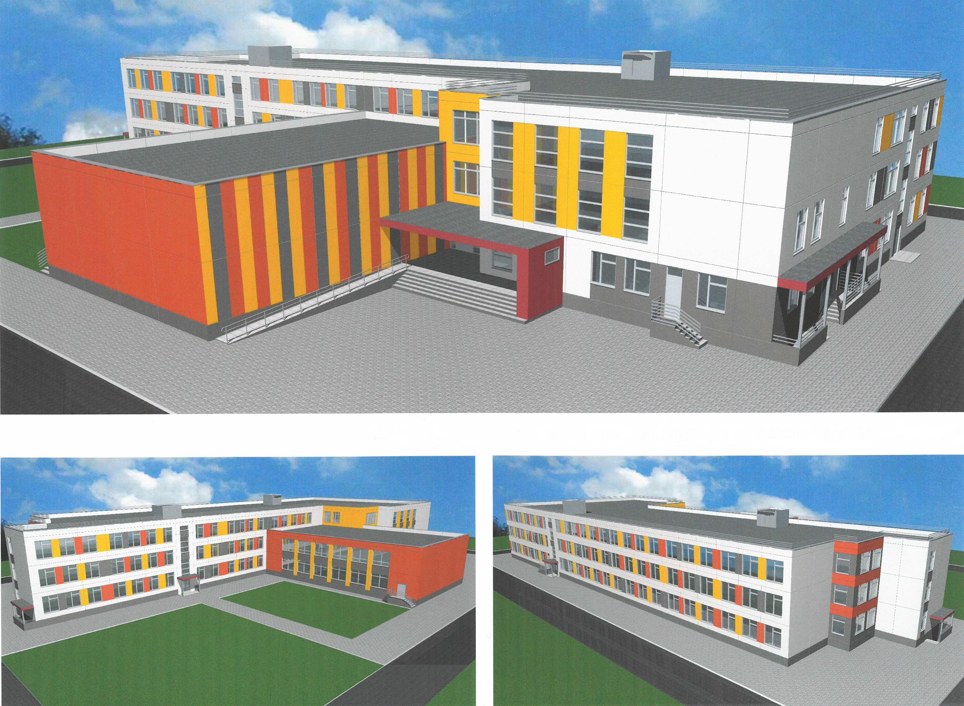 проект школы Ледмозеро