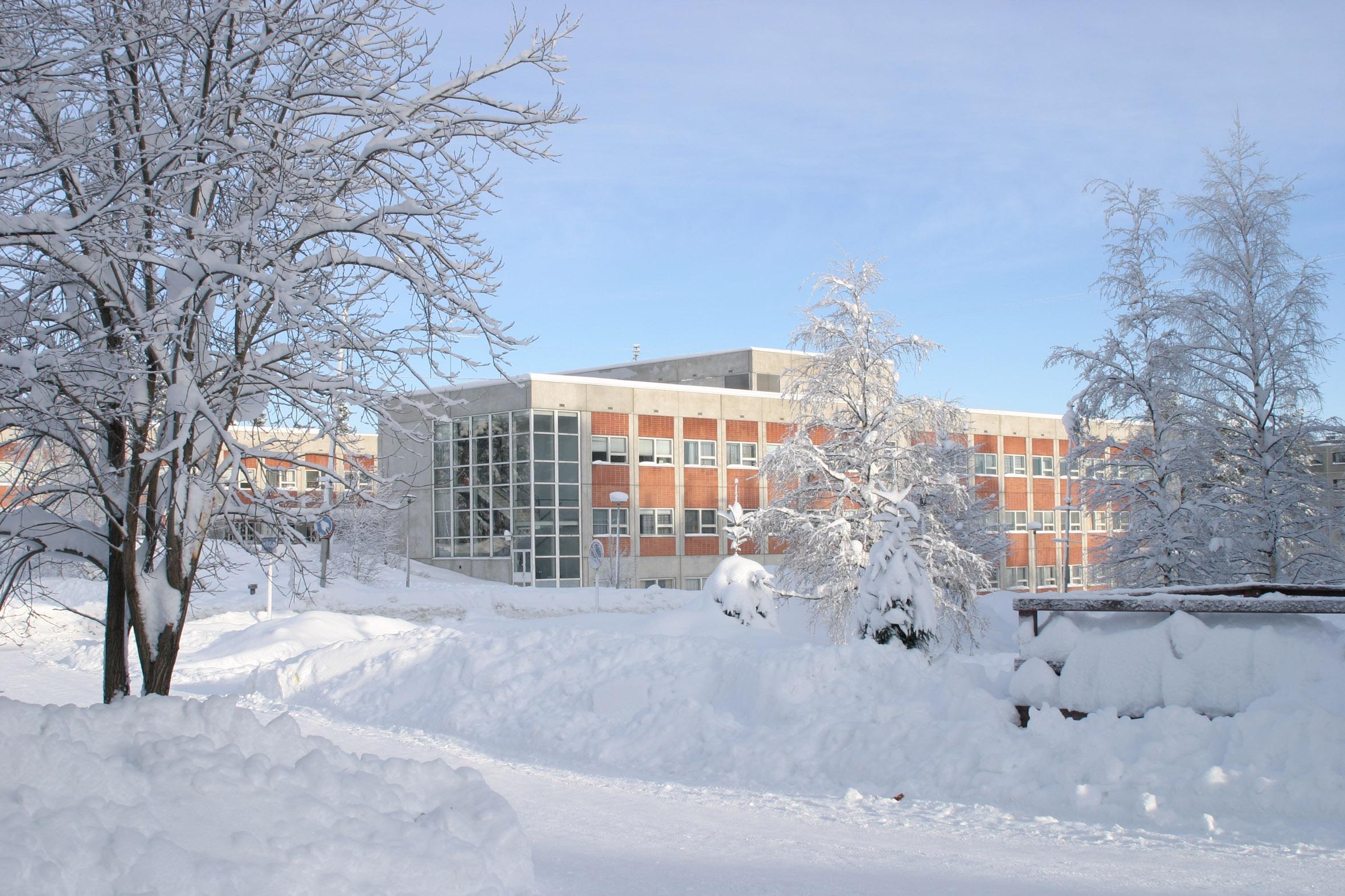 Поликлиника-зима