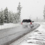дорога зима машина Пиксбэй