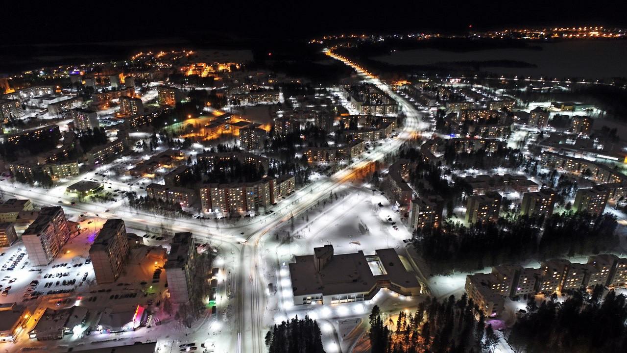 город свет освещение