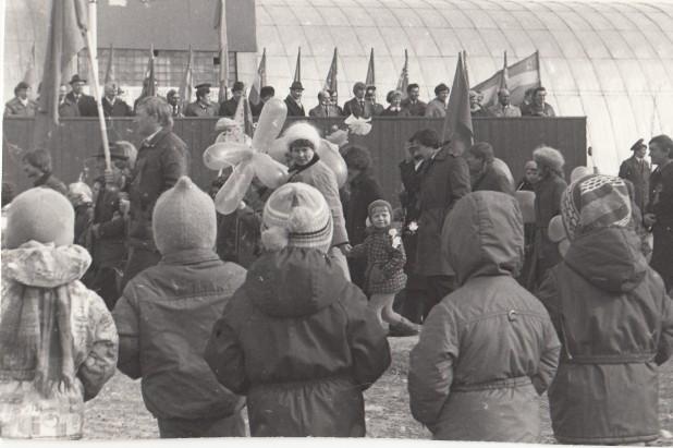 1 мая в Костомукше, 80-е годы