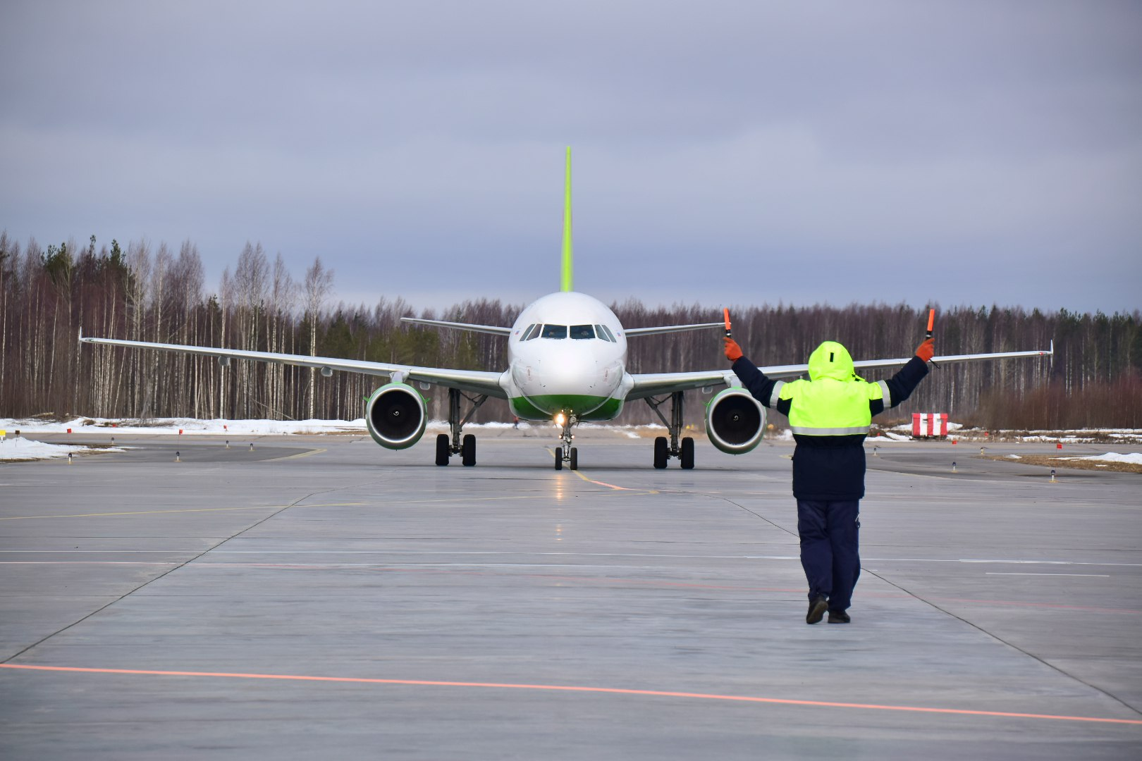 самолет S7 Петрозаводск