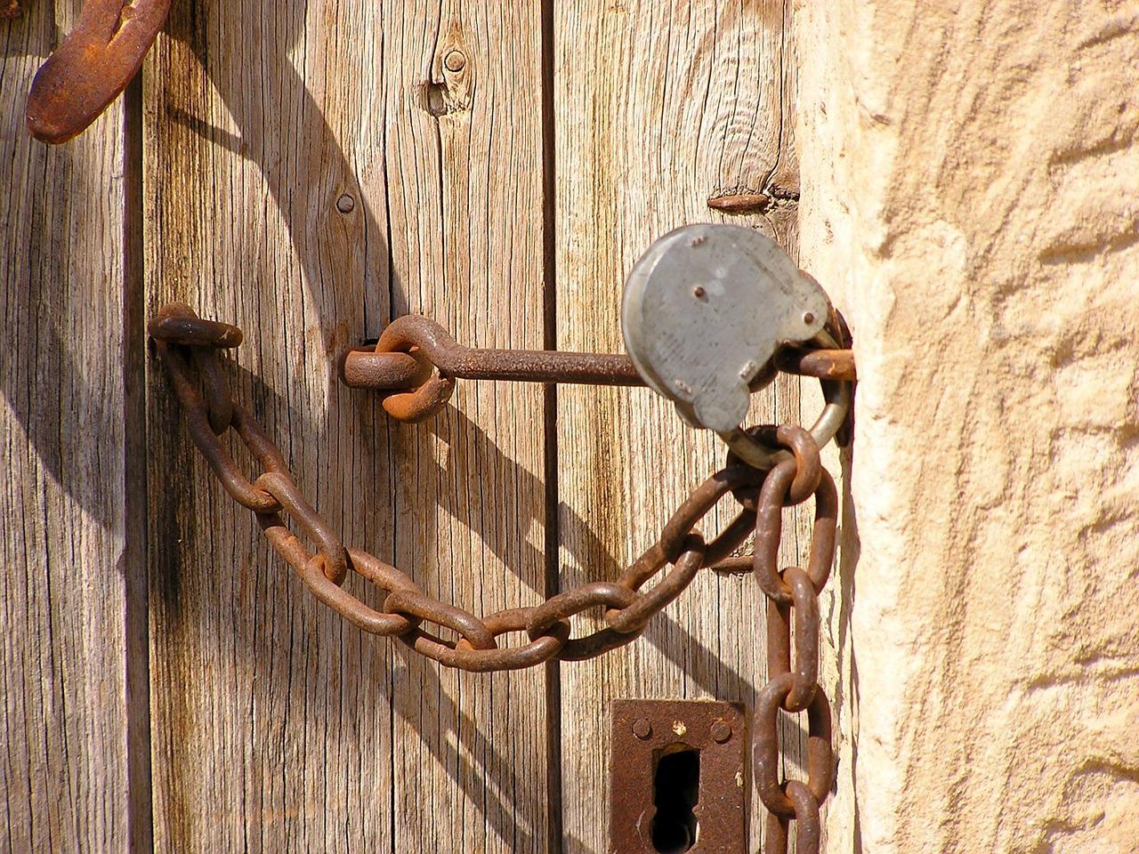 замок дверь закрыто Пиксбэй