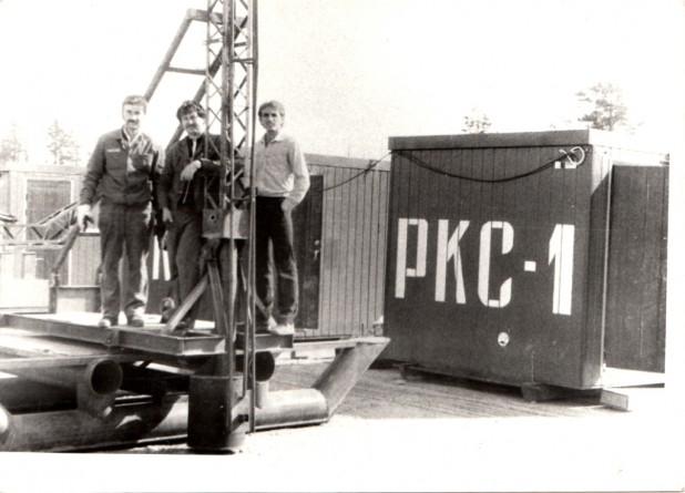 Плустый Станислав Анисимович (справа) - 1983 год