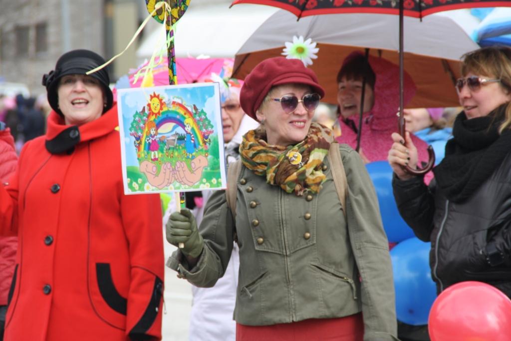 1 мая 2017 в Костомукше праздничное шествие_190