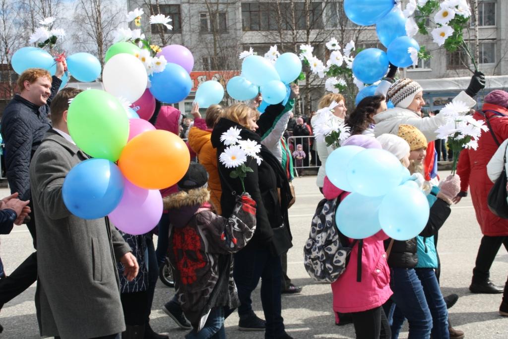 1 мая 2017 в Костомукше праздничное шествие_282