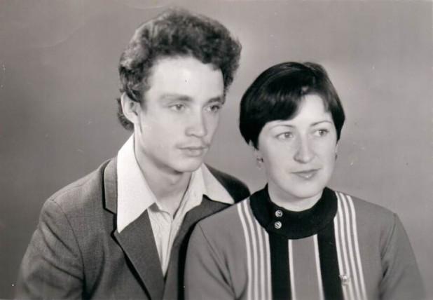 Олег Юрьевич и Ирина Юрьевна Бердник , 1980 год