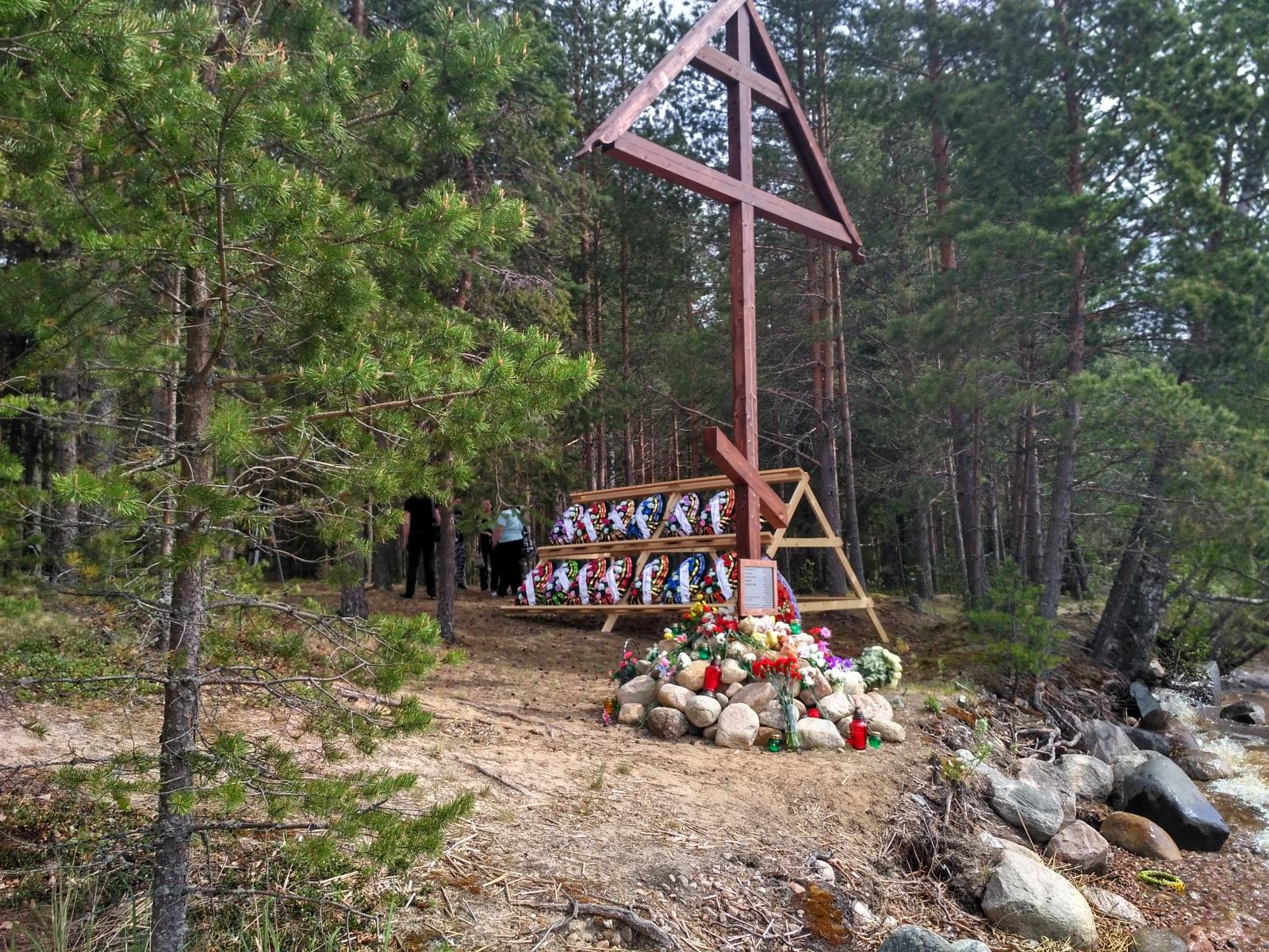 СЯмозеро поклонный крест