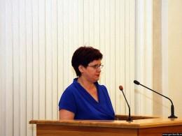 исполняющая обязанности министра финансов Республики Карелия Елена Александровна Антошина
