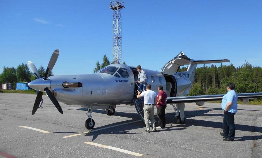 самолет Пиларус паблик Аэропорт Костомукша