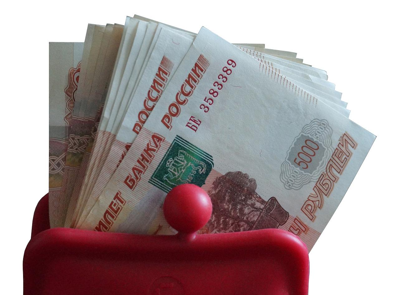 деньги рубли кошелек Пиксбэй