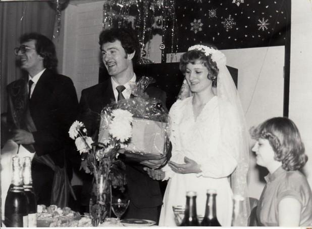 Юрий Анатольевич и Елена Викторовна Лантух, свадьба, 1983 г